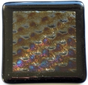 picture pattern irridised coaster