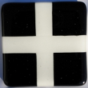 picture of St Piran's flag coaster